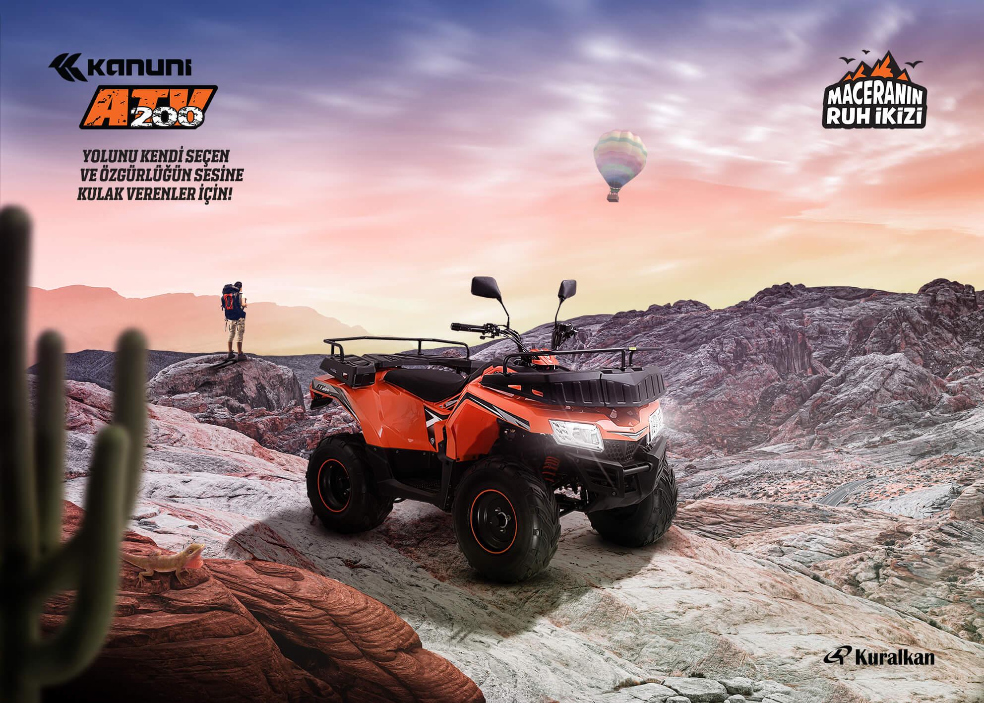 Kanuni ATV 200 KeyVisual 2021